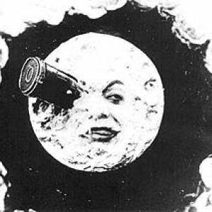 """Foi apresentado em França o primeiro filme de ficção científica """"A viagem à Lua"""", de Meliès"""