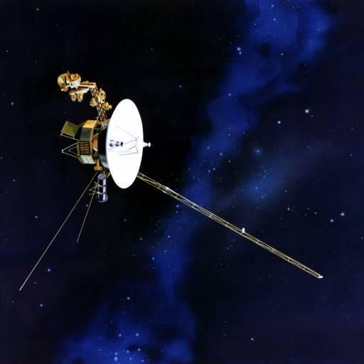 A nave Voyager II foi lançada para explorar outros planetas