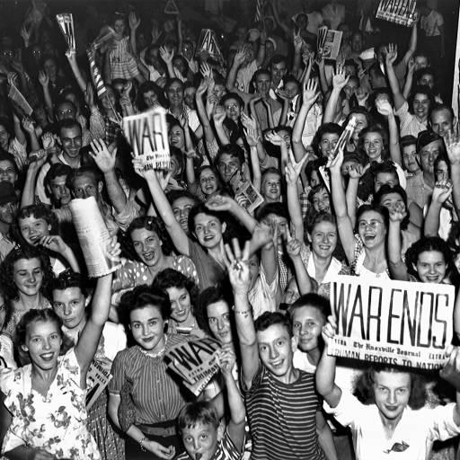 Terminou a II Guerra Mundial