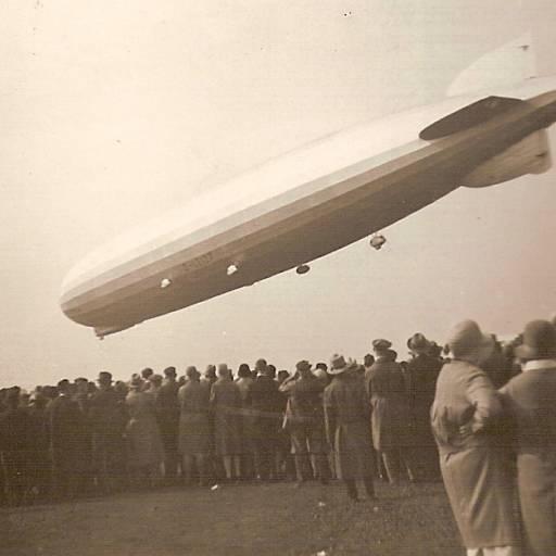 Zeppelin fez travessia do Atlântico entre a Alemanha e os Estados Unidos