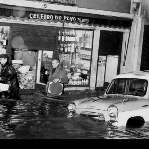 Inundações na região de Lisboa