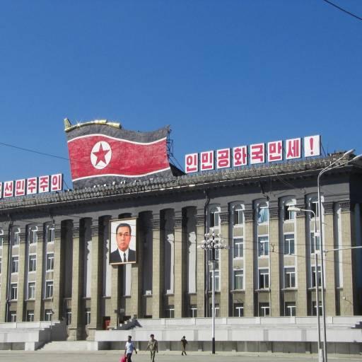 A Coreia do Norte foi criada, separando a península em dois países distintos