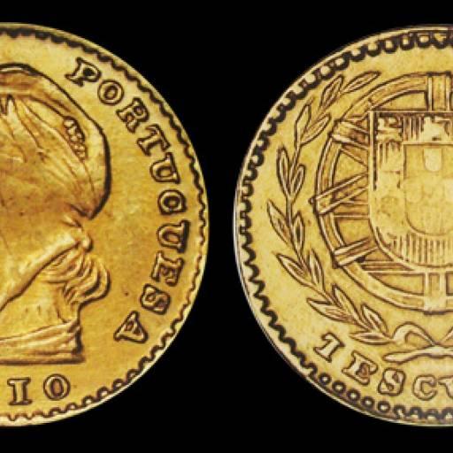Portugal adoptou o escudo de cem centavos