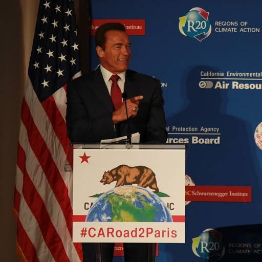 Arnold Schwarzenegger venceu as eleições para governador do estado da Califórnia