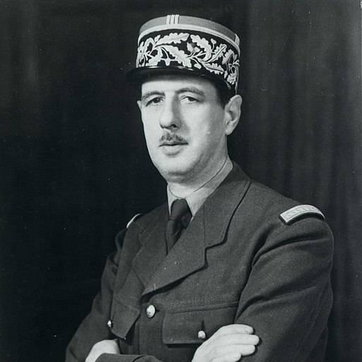 Faleceu o militar Charles de Gaulle