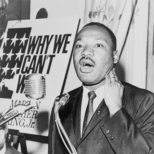 "Martin Luther King Jr. fez o discurso ""I Have a Dream"""