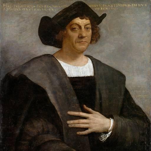 Cristóvão Colombo apresentou-se aos Reis Católicos de Espanha, com uma nova rota às Índias