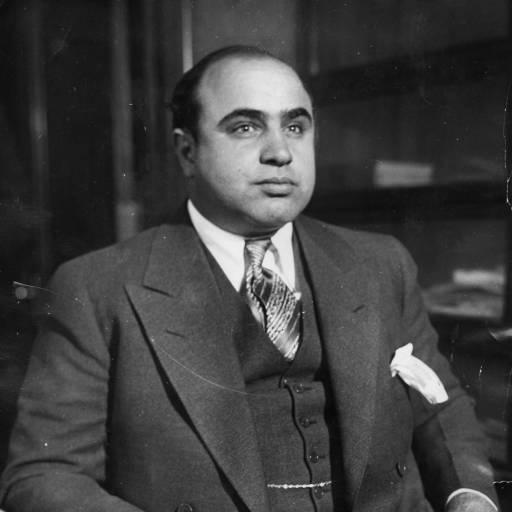 Al Capone foi condenado por evasão fiscal