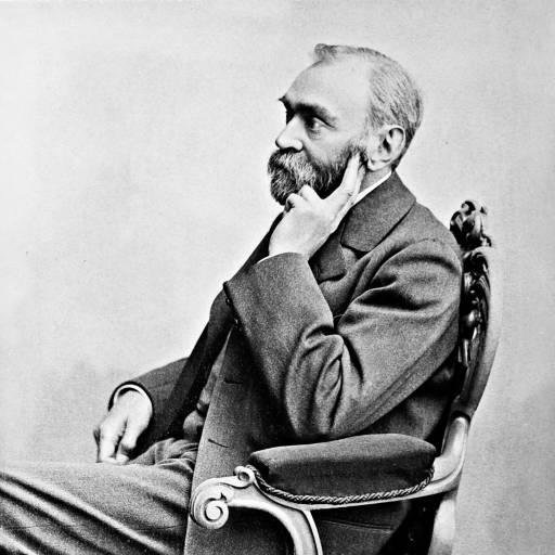 Alfred Nobel recebeu a sua primeira patente