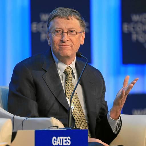 Nasceu o empresário Bill Gates