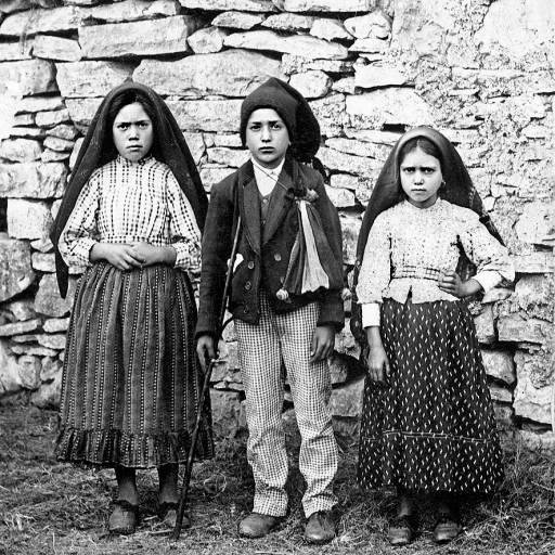 Três crianças tiveram a última visão de Nossa Senhora