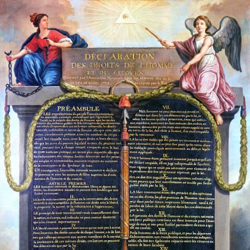 A Assembleia Constituinte aprovou a Declaração dos Direitos do Homem e do Cidadão