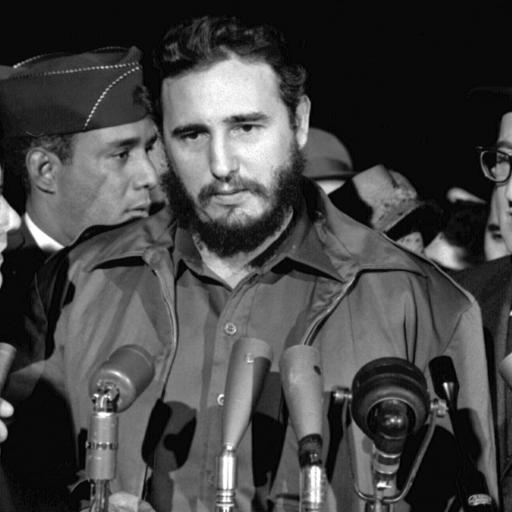 Nasceu o político Fidel Castro