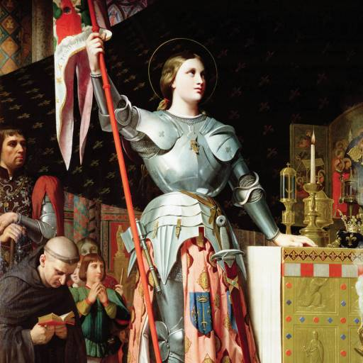 Faleceu Joana d'Arc