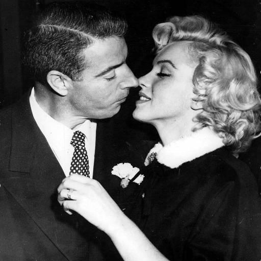 Marilyn Monroe casou-se com o jogador de baseboll Joe DiMaggio
