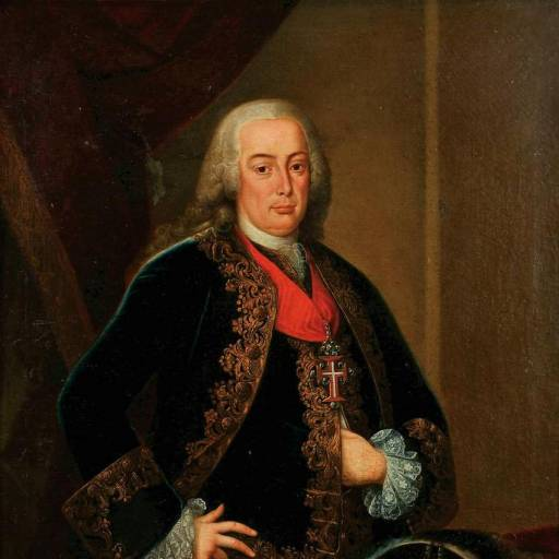 Sebastião José de Carvalho e Melo recebeu o título de Marquês de Pombal