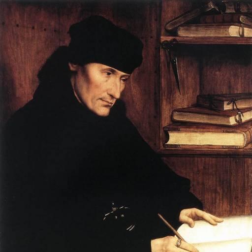 Faleceu o humanista Erasmo de Rotterdam