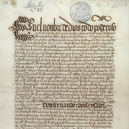 O Tratado de Tordesilhas foi ratificado na Espanha