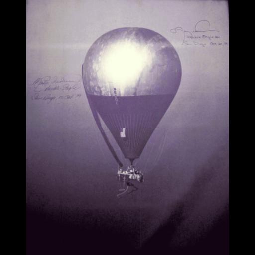 Ocorreu a primeira travessia do Atlântico num balão de ar quente
