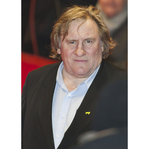 Nasceu o actor Gérard Depardieu