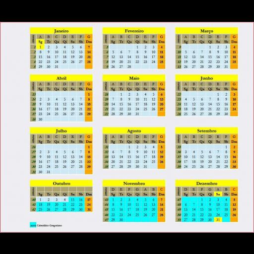 Implementação do calendário Gregoriano