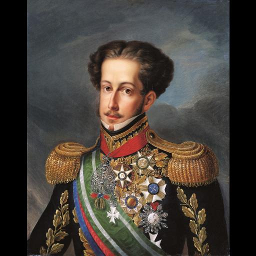 D. Pedro IV abdicou do trono a favor da filha D. Maria II