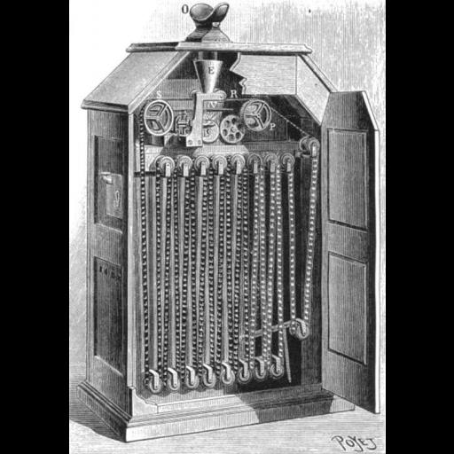 Thomas Edison inventou o cinetoscópio