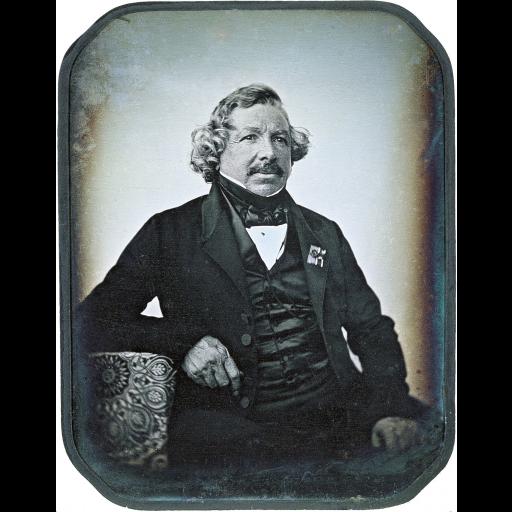 Faleceu Louis Daguerre