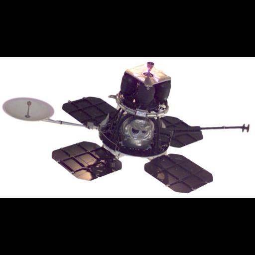 A nave Orbiter I foi lançada ao espaço