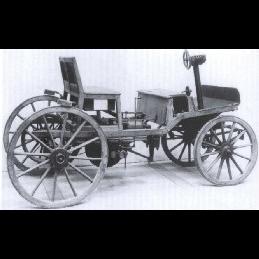 Circulou o primeiro automóvel nos Estados Unidos
