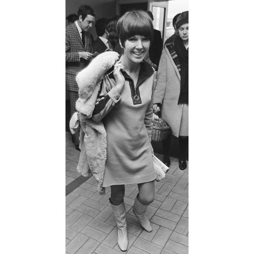 Mary Quant apresentou a mini-saia