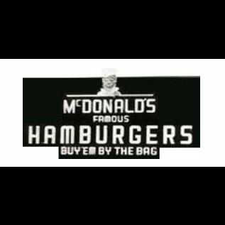 Os irmãos McDonald abriram um negócio de venda de hambúrgueres