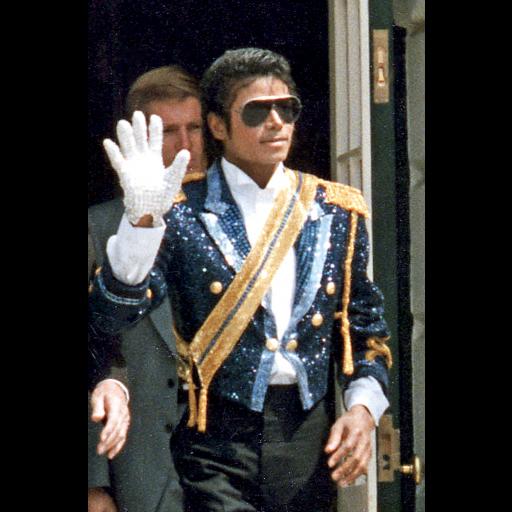 O cantor Michael Jackson lançou o seu passo Moonwalk