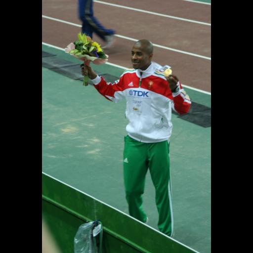 Nelson Évora conquistou a medalha de Ouro nos Jogos Olímpicos de Pequim