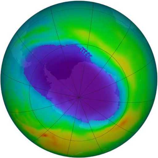 O buraco na Camada de Ozono atingiu os seus níveis máximos