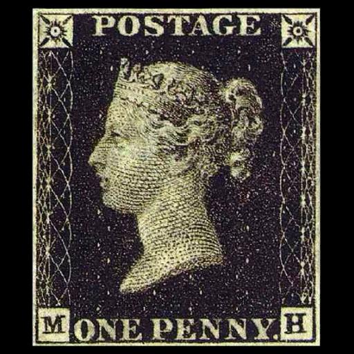 Foi colocado à venda o primeiro selo de correios do mundo