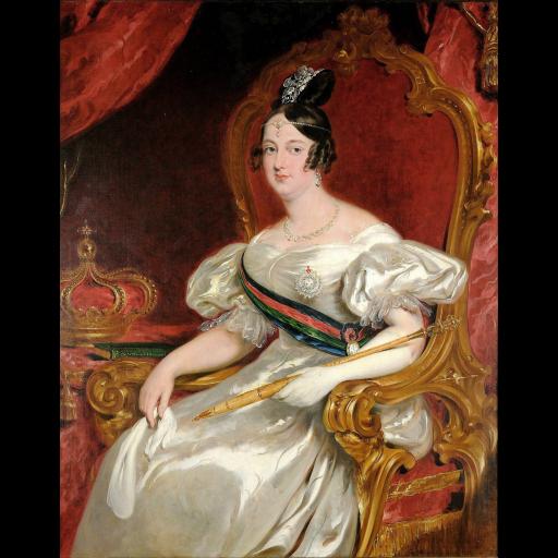 Nasceu a rainha D. Maria II
