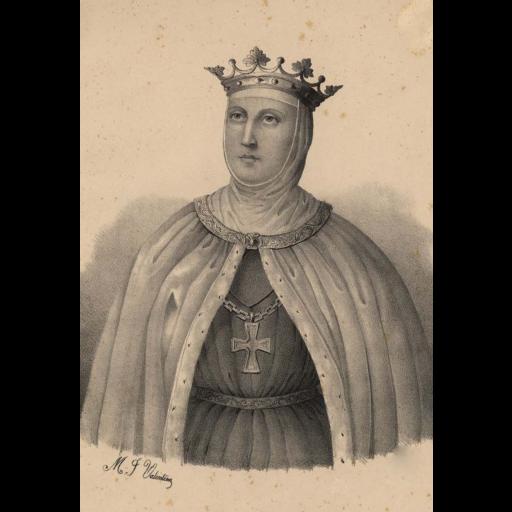 Faleceu a rainha D. Beatriz de Castela