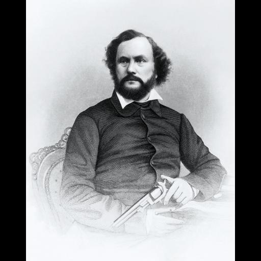 Foi patenteado o primeiro revólver por Samuel Colt