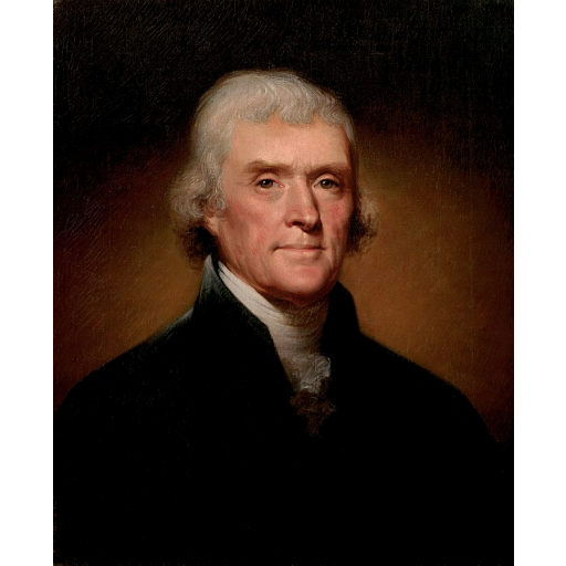 Nasceu Thomas Jefferson