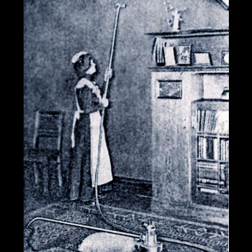 Foi patenteado o primeiro aspirador a vácuo