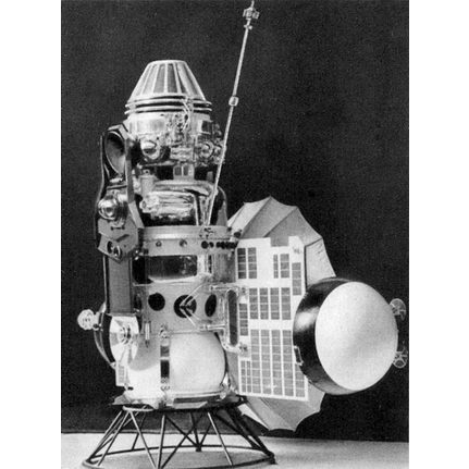 Vénus III tornou-se a primeira nave a aterrar noutro planeta